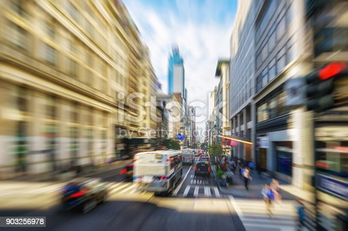 istock 5th fifth avenue manhattan new york velocity abstract motion blur 903256978