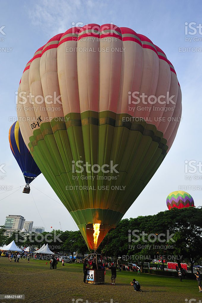 5th Putrajaya International Hot Air Balloon Fiesta 2013 royalty-free stock photo