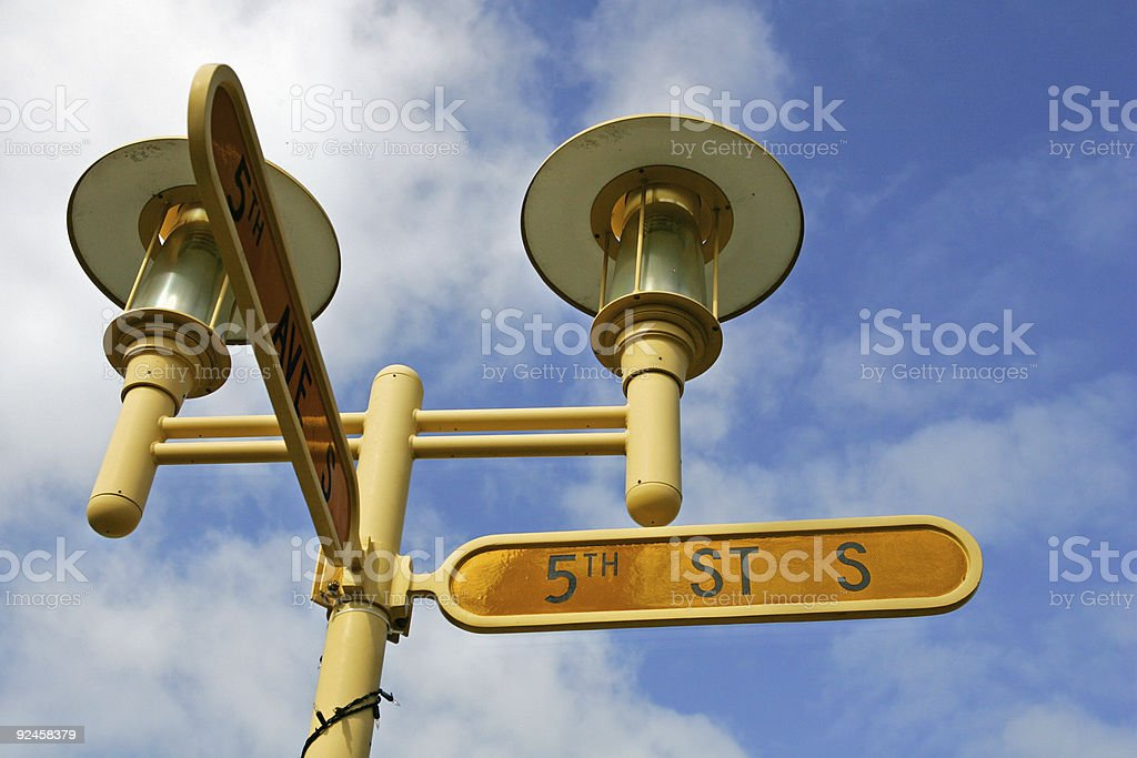 5th Street South stock photo