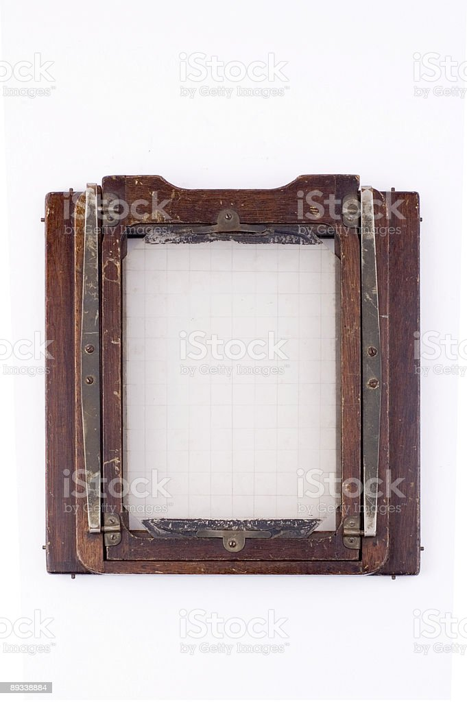 5x7 film back stock photo