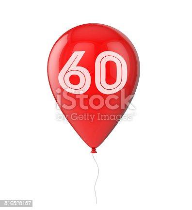 istock 60th Birthday balloon 516528157