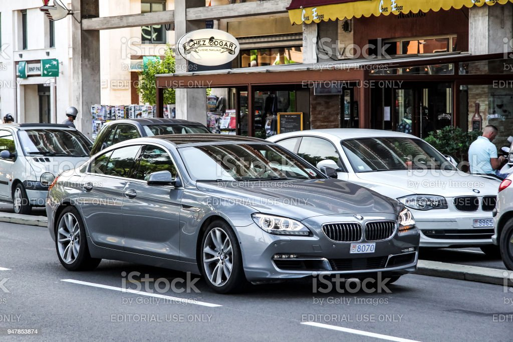 BMW F06 6-series Gran Coupe stock photo