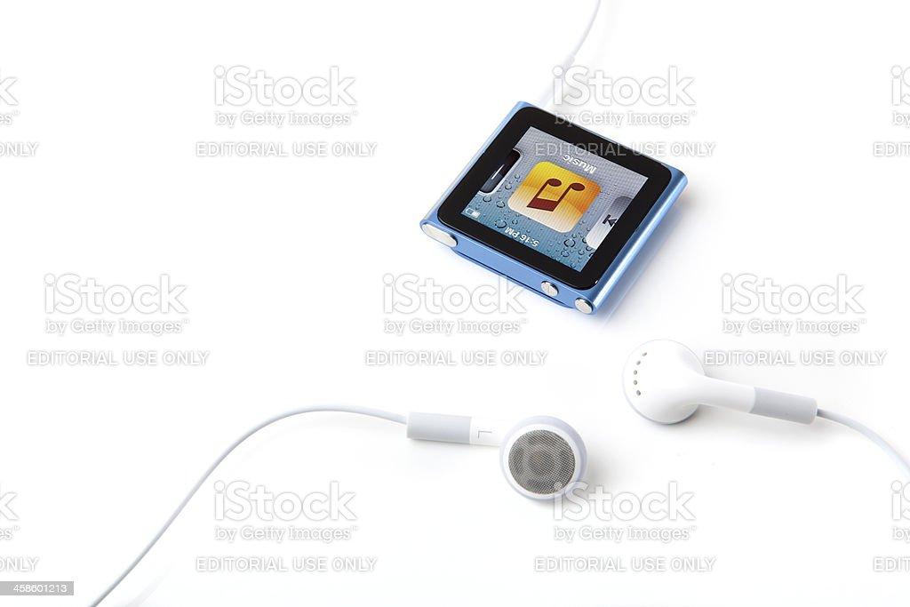 6th Generation Apple iPod Nano stock photo