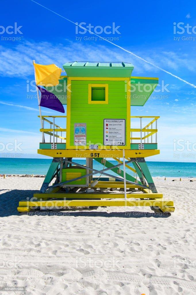 6th Street Rettungsschwimmer Station, Miami Beach – Foto