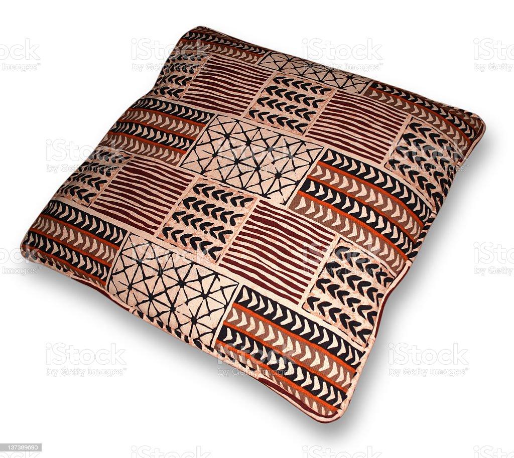 70ies style cushion royalty-free stock photo