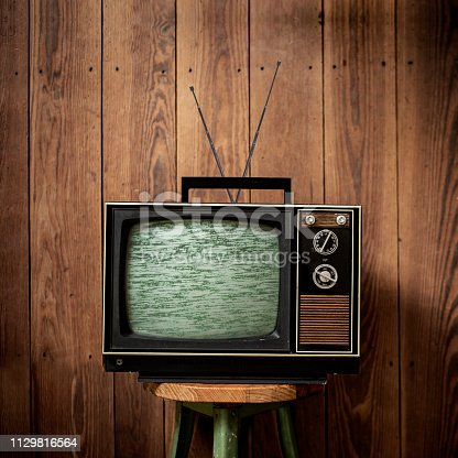 istock 70s Vintage Television 1129816564