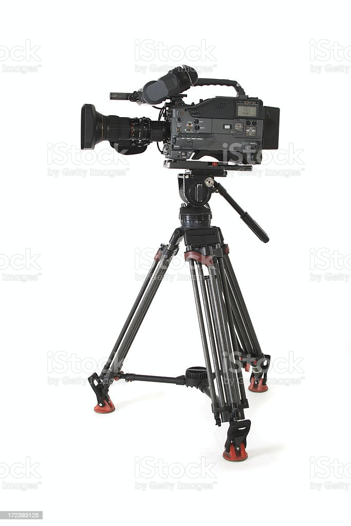 HDW 750p Camcorder royalty-free stock photo