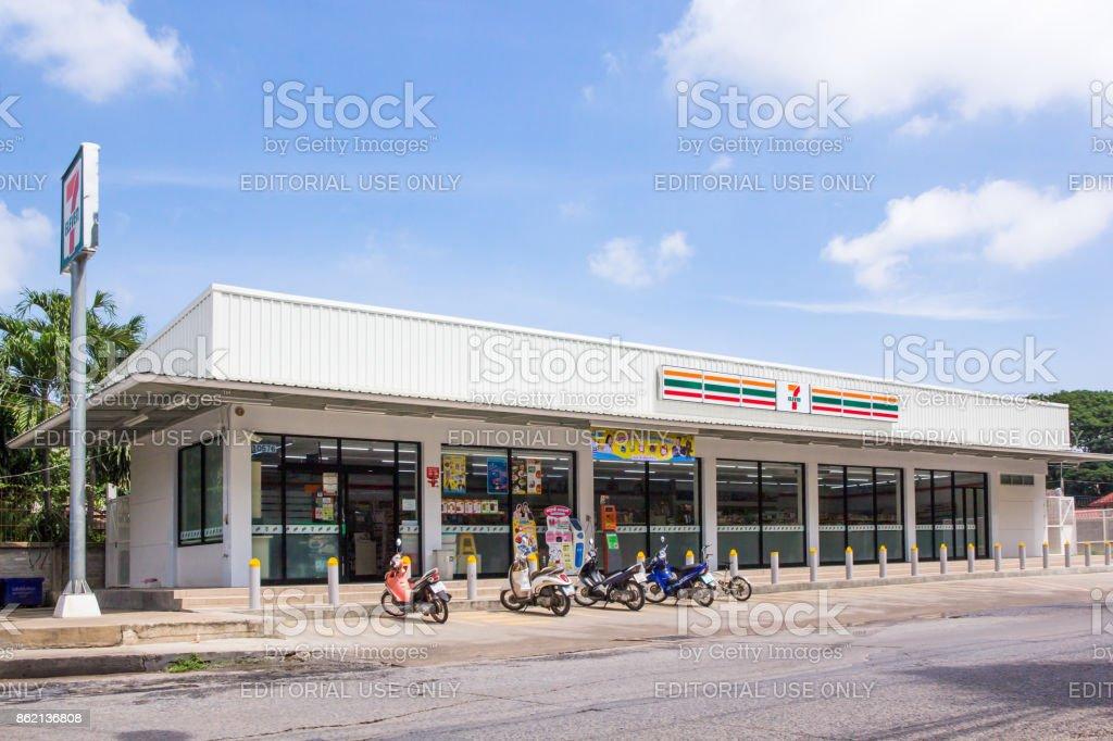 7-Eleven, convenience store stock photo