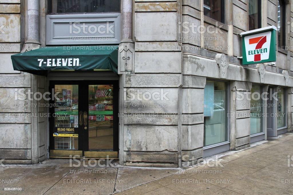 7-Eleven stock photo