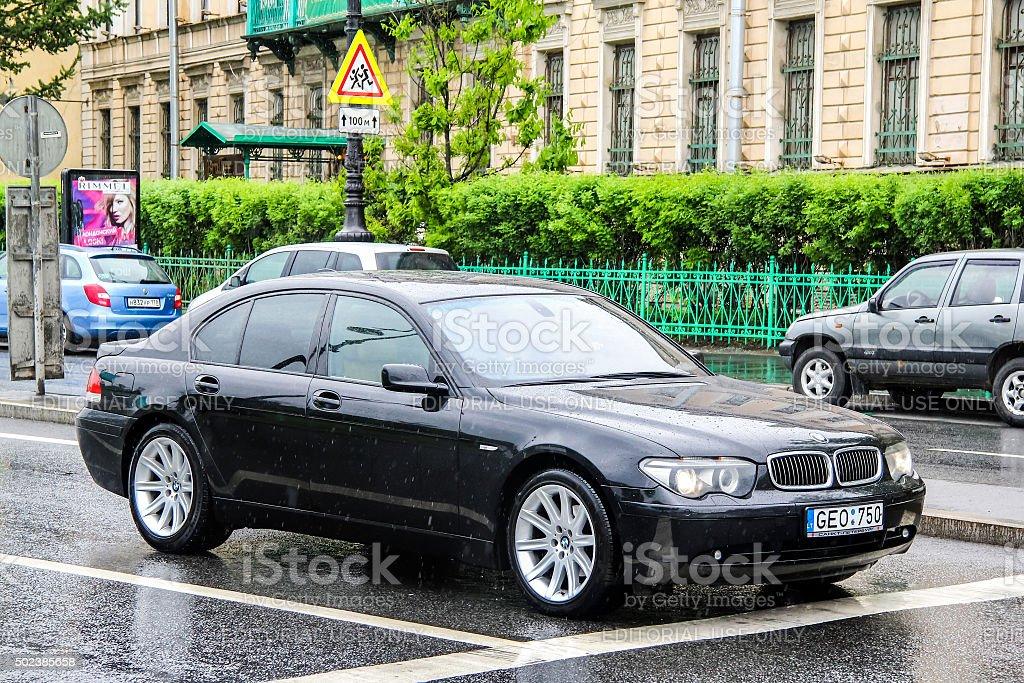 BMW E65 7-series stock photo
