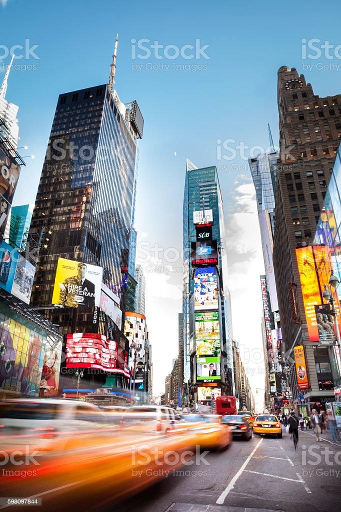 7th Avenue NYC stock photo