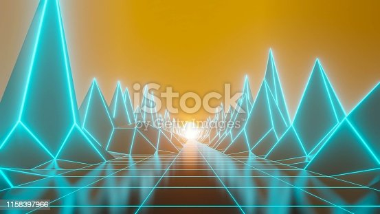 istock 80s fluorescent visual background 1158397966