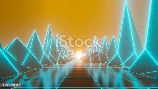 istock 80s fluorescent visual background 1158398017