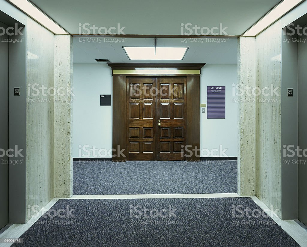 89th Office Floor royalty-free stock photo