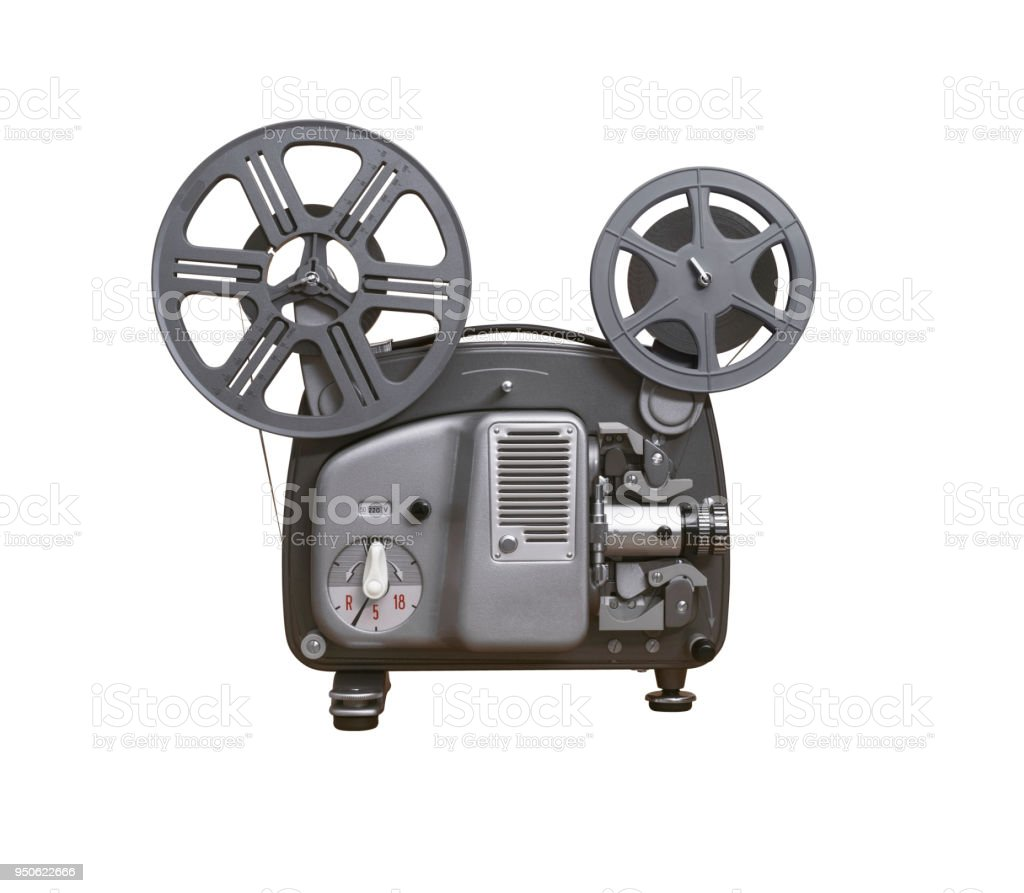 8mm Film Projector Stock Photo - Download Image Now - iStock