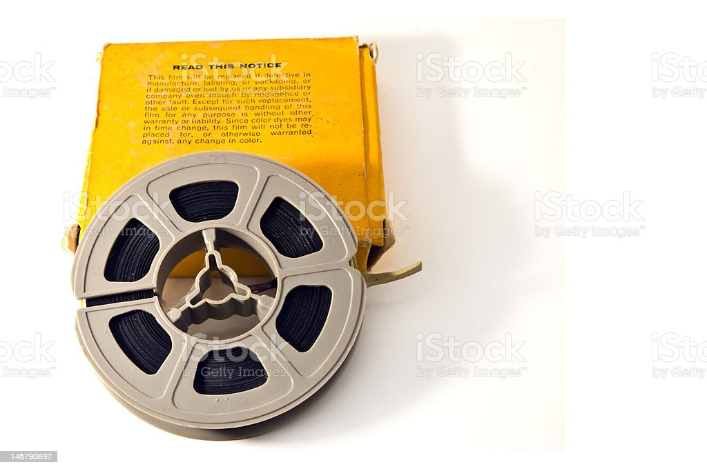 8mm Movie Film stock photo