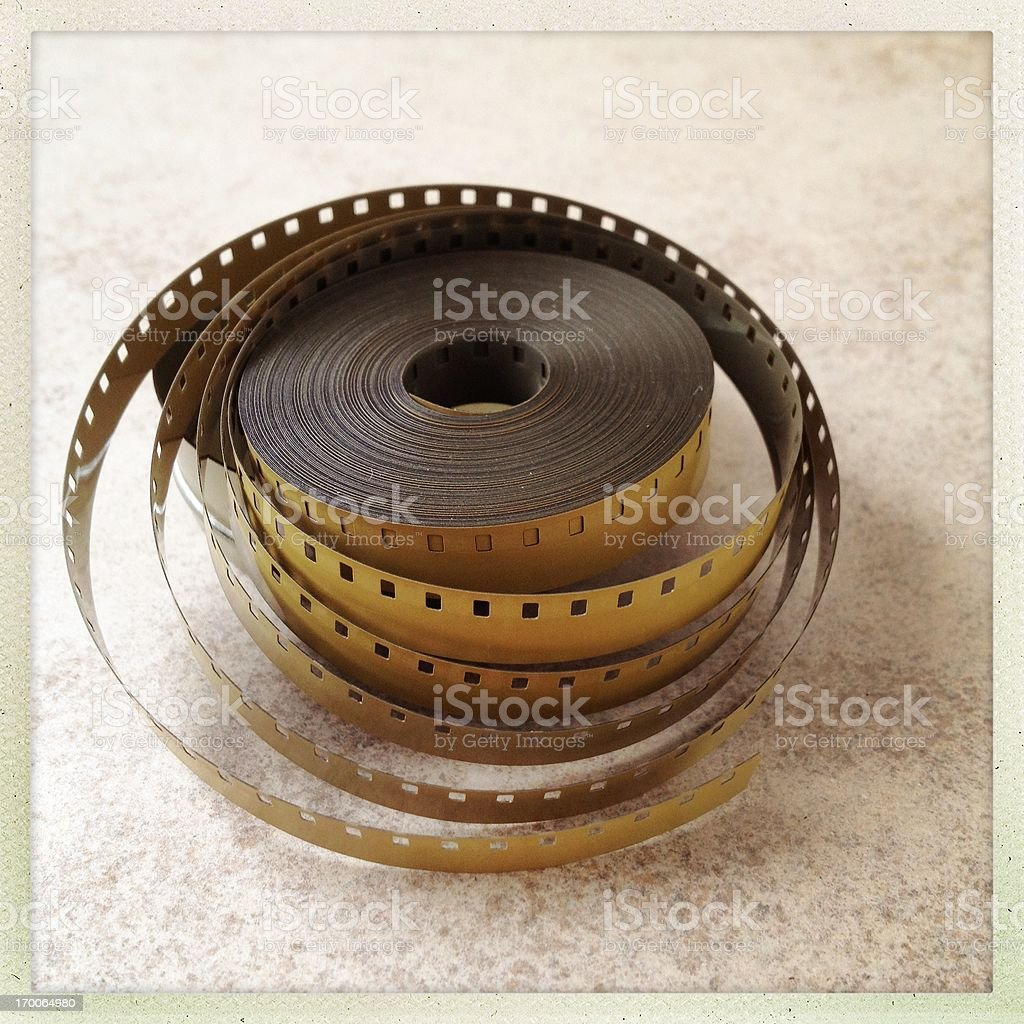 8mm old film royalty-free stock photo