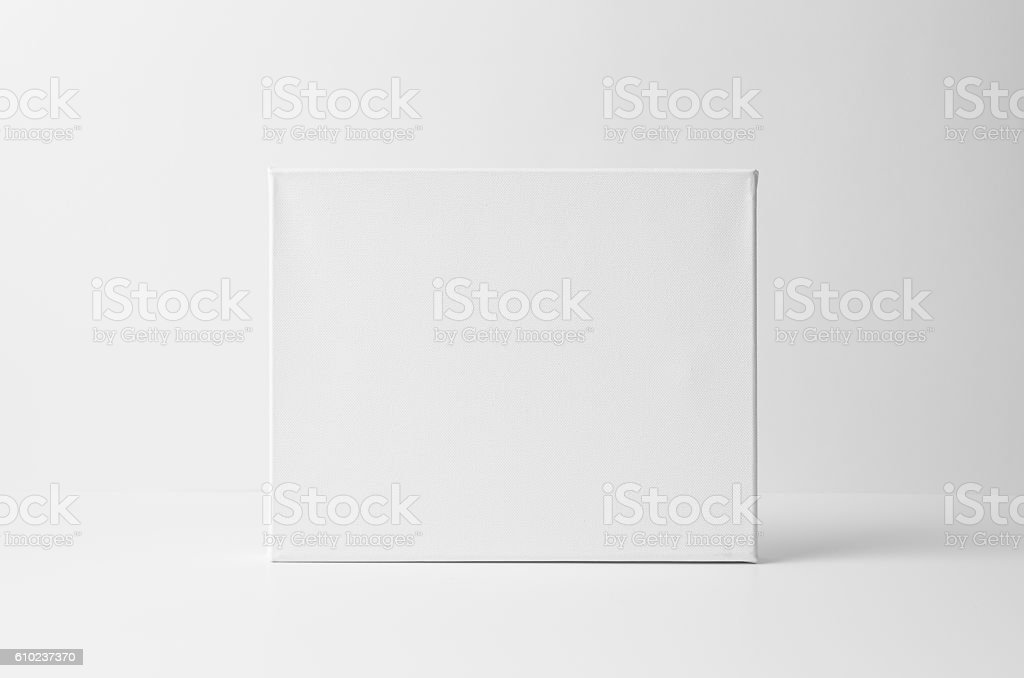 8x10' Art Canvas Mock-Up - Landscape stock photo