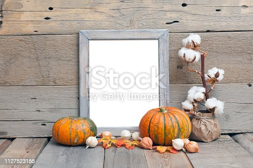 istock 8x10 vertical wooden frame mockup, rustic style 1127523155
