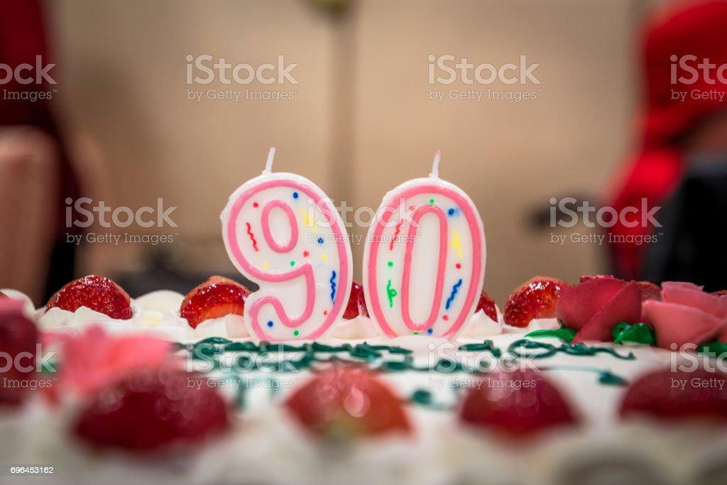 Fine 90Th Birthday Stock Photo Download Image Now Istock Funny Birthday Cards Online Elaedamsfinfo