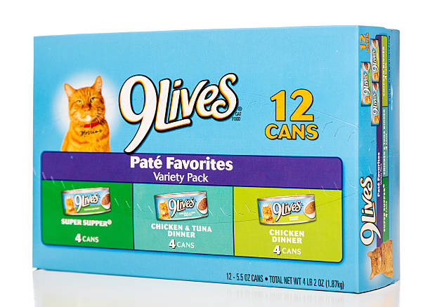 9lives Pate Favorites Variety Pack Cat Food Stock Photo More