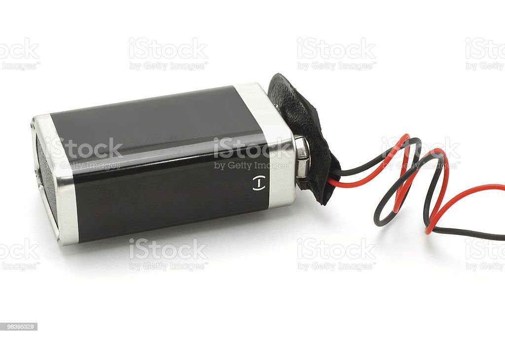 9v battery royalty-free stock photo