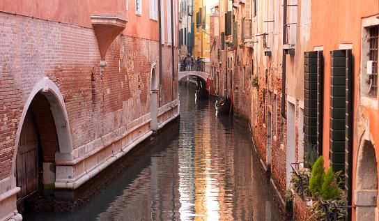 a canal in the district of cannaregio avenezia