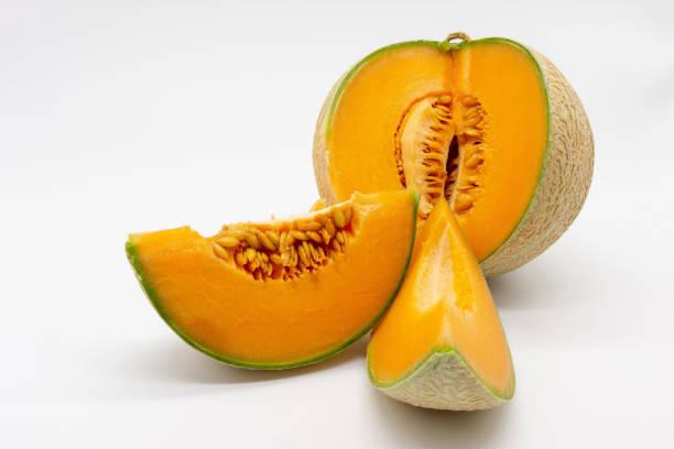 eine Charentais-Melone – Foto
