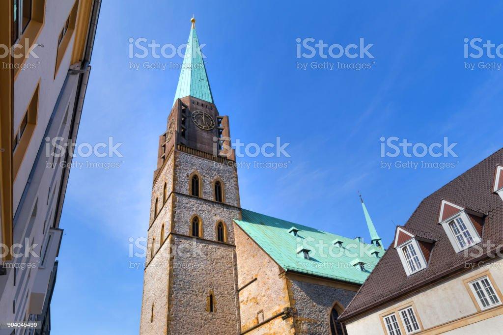 ビーレ フェルト ドイツの教会 - デトモルトのロイヤリティフリーストックフォト
