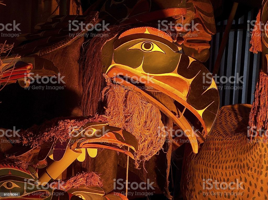 'a collection of masks 1' stock photo
