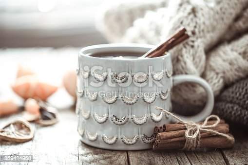 istock a cozy Christmas tea Cup still life 859424958