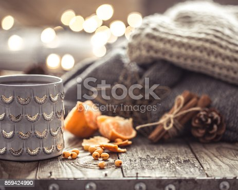 istock a cozy Christmas tea Cup still life 859424990