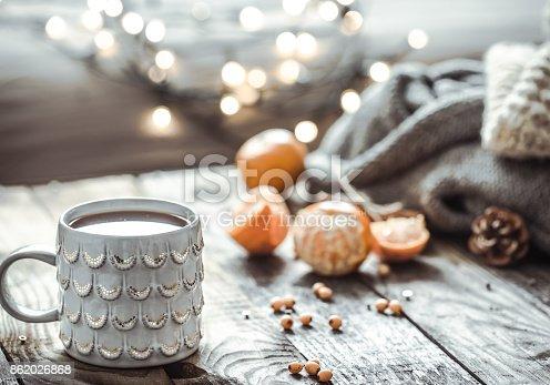 istock a cozy Christmas tea Cup still life 862026868