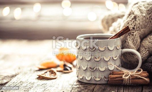 istock a cozy Christmas tea Cup still life 862026906