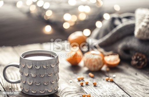 istock a cozy Christmas tea Cup still life 865664366