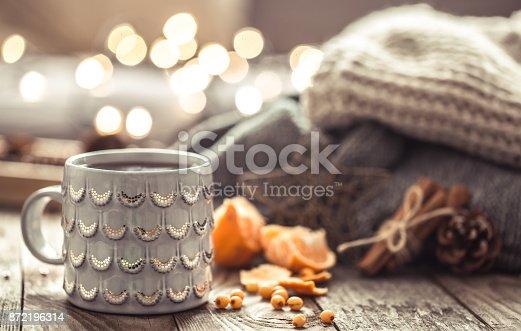 istock a cozy Christmas tea Cup still life 872196314