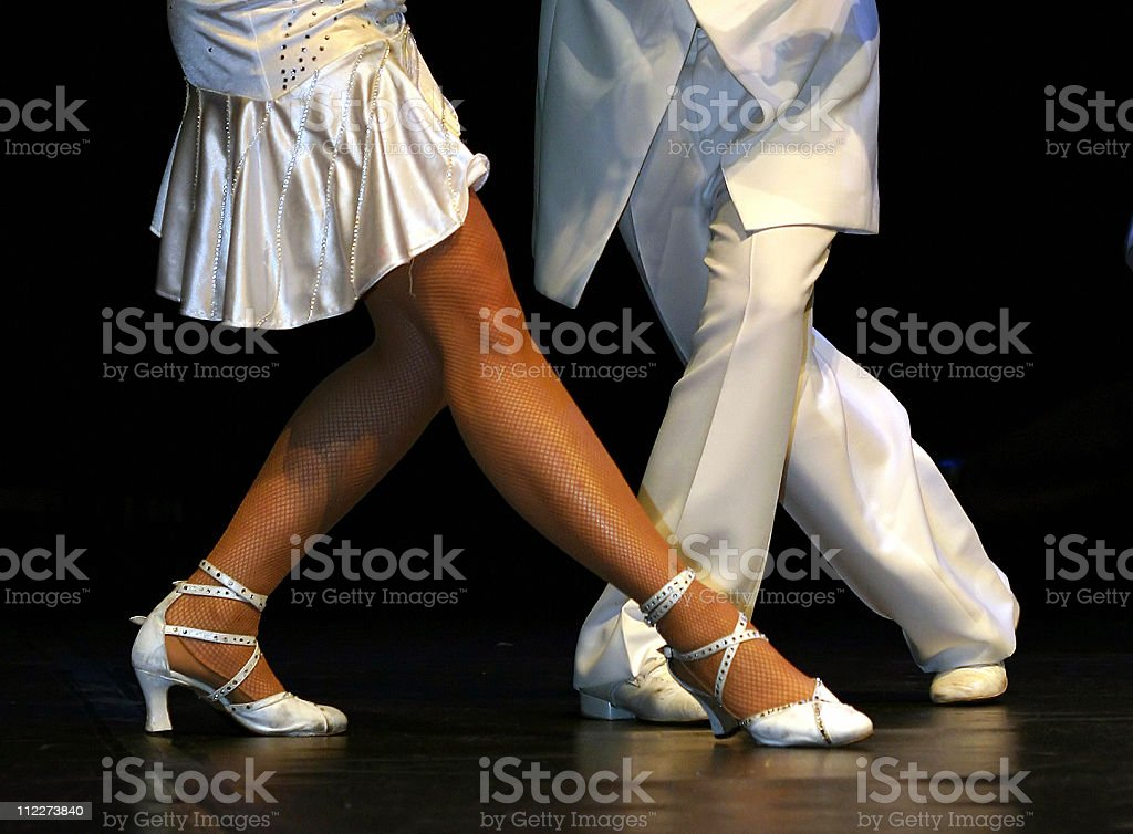 a dancepair royalty-free stock photo