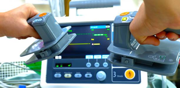 een defibrillator foto