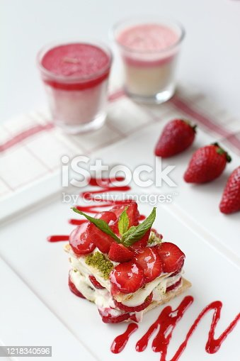 istock a delicious fresh strawberry dessert 1218340596