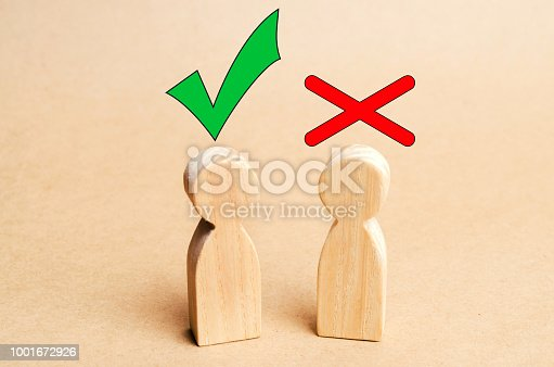 istock a dispute between people, tension, misunderstanding, family psychology. consent and disagreement 1001672926