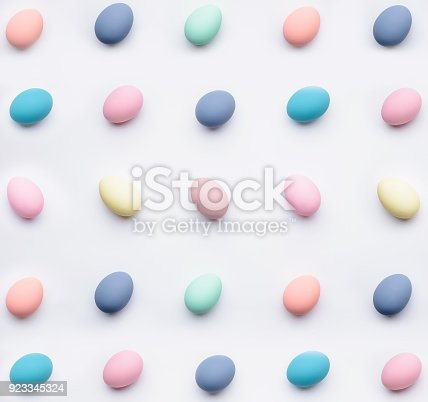 istock a festive Easter composition. view from above. concept of the spring and the feast of the Passover 923345324