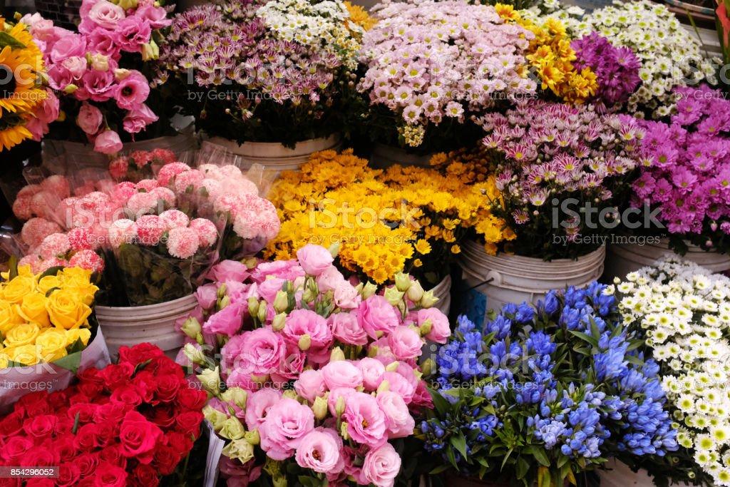 ein Blumengeschäft – Foto