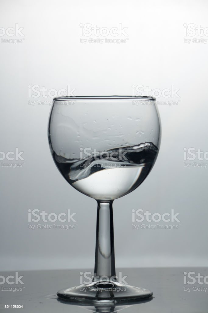 a glass of water royalty-free stock photo