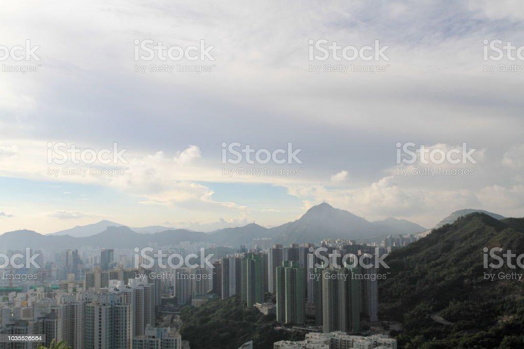 香港九龍, 從魔鬼山頂觀看圖像檔