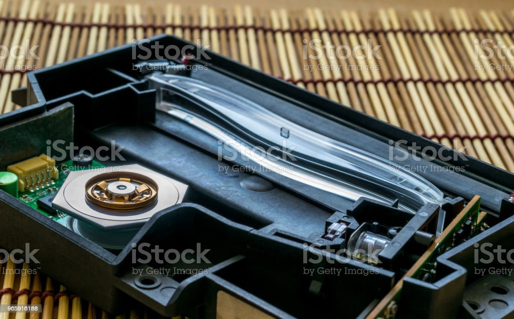 a laser unit from the laser printer with the lid open - Royalty-free Air Pollution Stock Photo