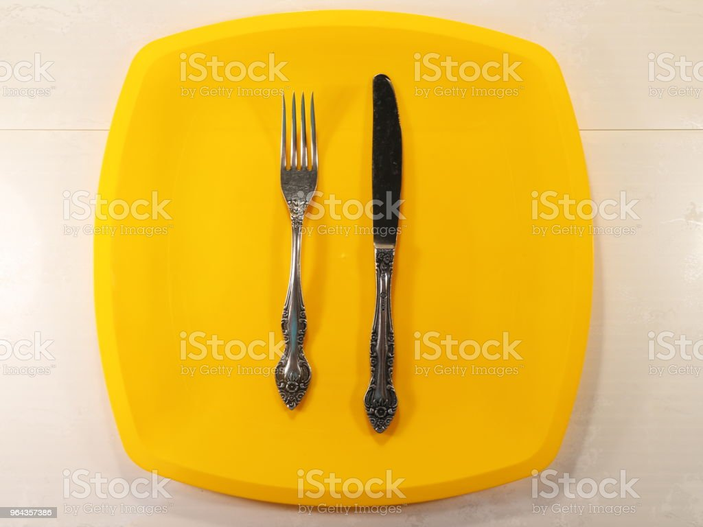 um monte de garfos na mesa - Foto de stock de Antigo royalty-free