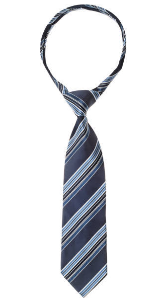 a necktie on white background - tied up stock pictures, royalty-free photos & images