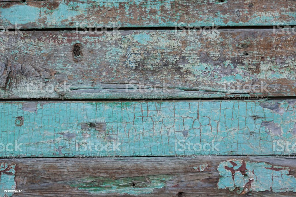 a old colored boarded wall royalty-free stock photo