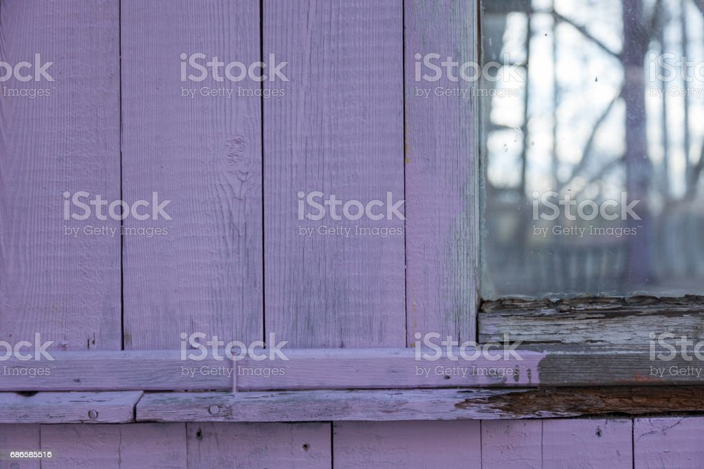 a old colored wooden boarded royalty-free stock photo