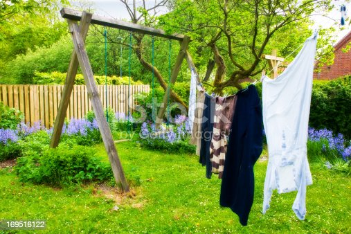 istock a photo of laundry hanging outdoor 169516122